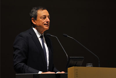 Mario Draghi, President, European Central bank