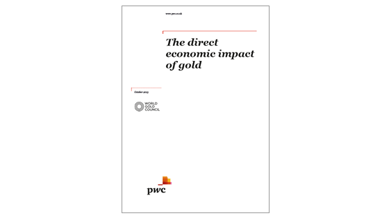 Economic contribution - The direct economic impact of gold